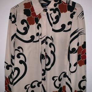 💕Abstract Print Premise Blouse💕